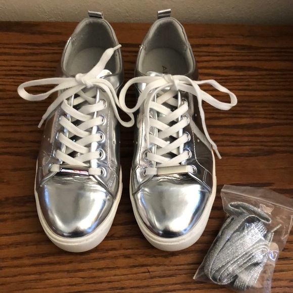 Aldo Shoes | Aldo Silver Metallic